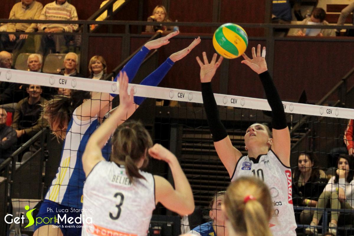 CEV Volleyball Champions League – RC Cannes Vs Liu.Jo Nordmeccanica Modena