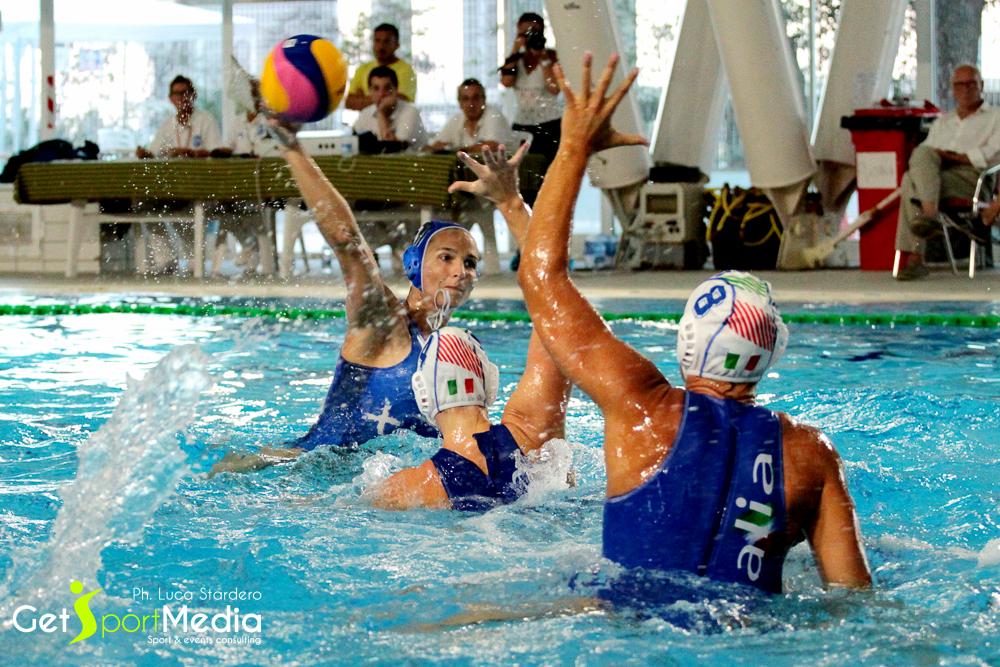 Waterpolo femminile, Italia Vs Grecia
