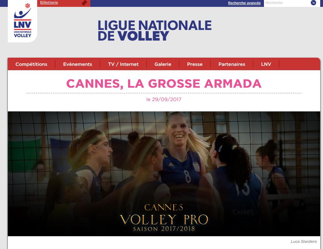 League Nationale de Volley