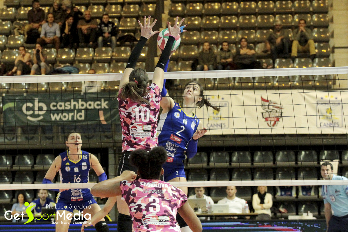 Volley Femminile A1 Francese: RC Cannes vs Le Cannet