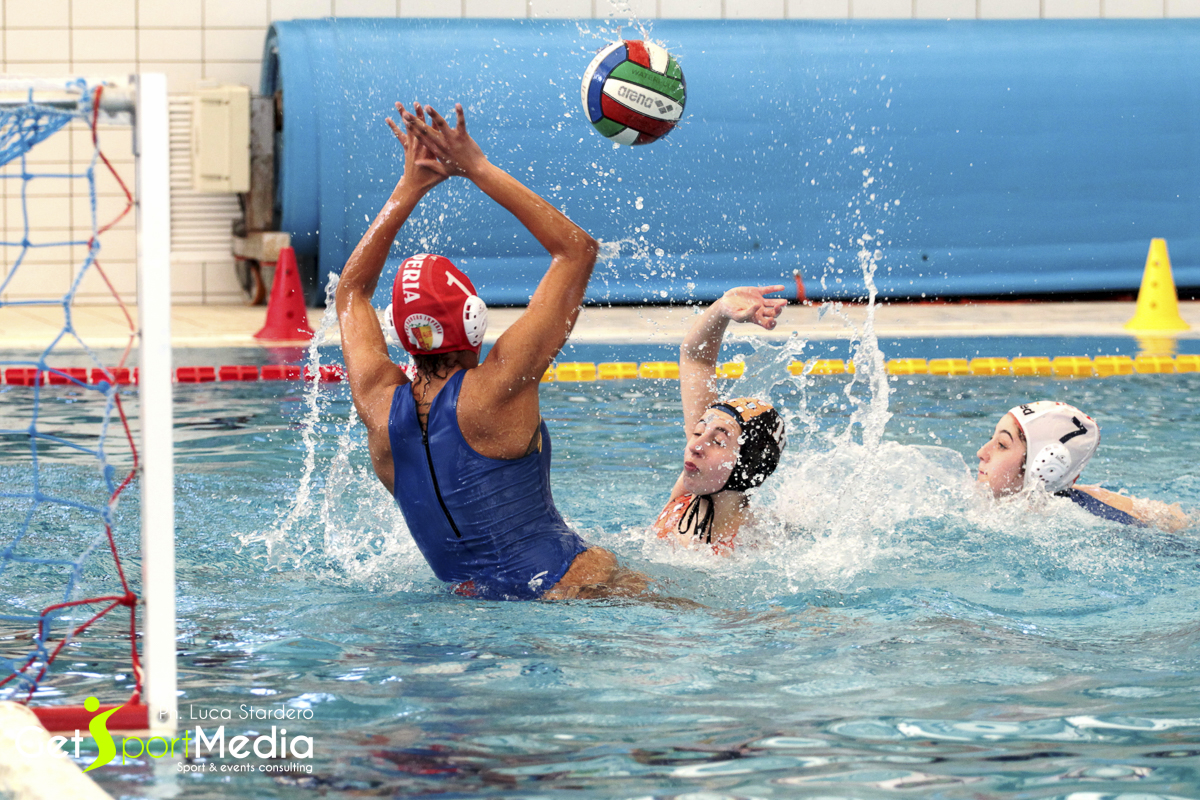 Waterpolo femminile, serie B, Rari Nantes Imperia vs Sori Pool Beach