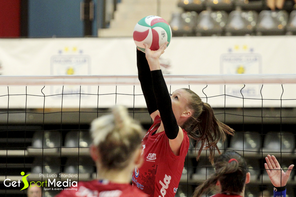 Campionato Volleyball francese, serie A1 femminile, semifinali playoff, RC Cannes vs Mulhouse